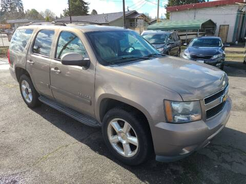 2007 Chevrolet Tahoe for sale at Universal Auto Sales in Salem OR