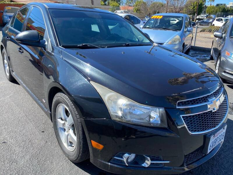 2012 Chevrolet Cruze for sale at CARZ in San Diego CA