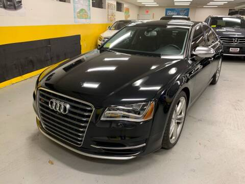 2014 Audi S8 for sale at Newton Automotive and Sales in Newton MA