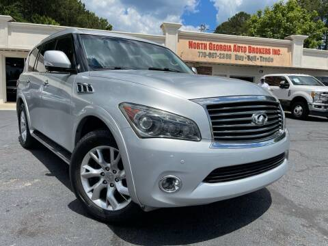2012 Infiniti QX56 for sale at North Georgia Auto Brokers in Snellville GA