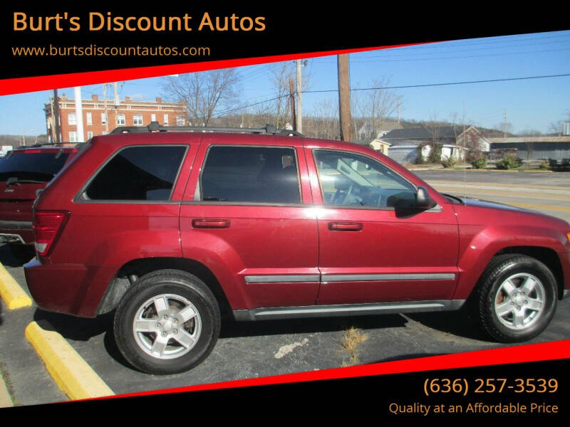 2007 Jeep Grand Cherokee for sale at Burt's Discount Autos in Pacific MO