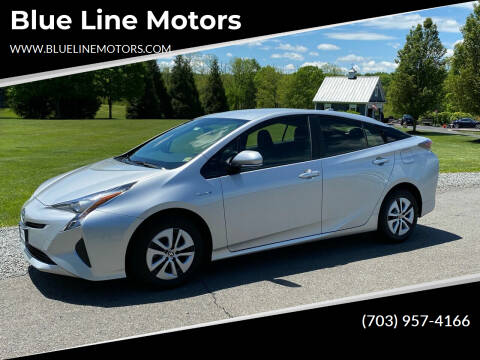 2016 Toyota Prius for sale at Blue Line Motors in Winchester VA