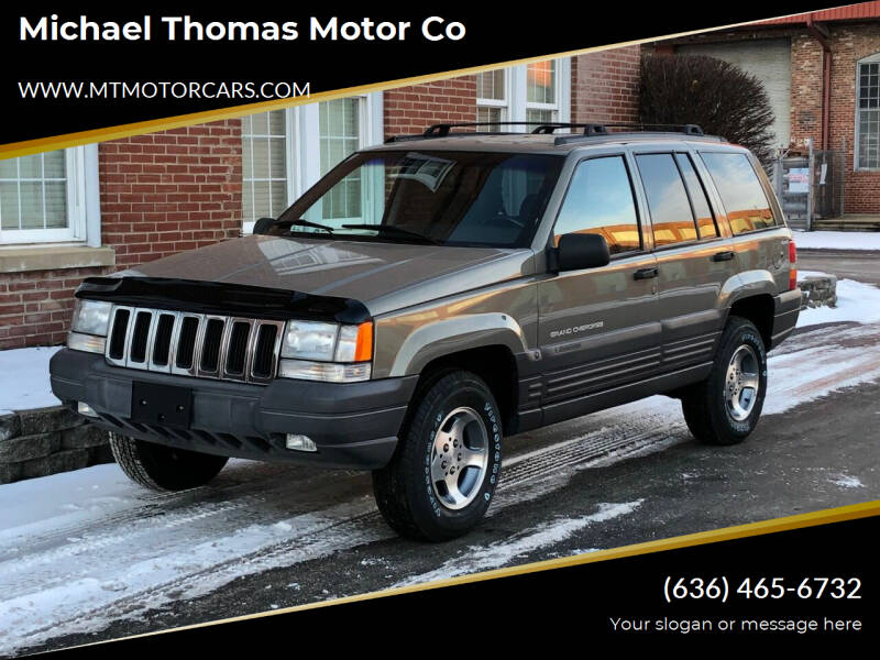 1997 Jeep Grand Cherokee for sale at Michael Thomas Motor Co in Saint Charles MO