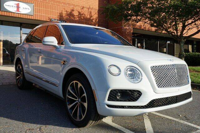 2017 Bentley Bentayga for sale at Team One Motorcars, LLC in Marietta GA