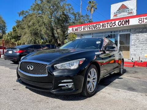2015 Infiniti Q50 for sale at Always Approved Autos in Tampa FL