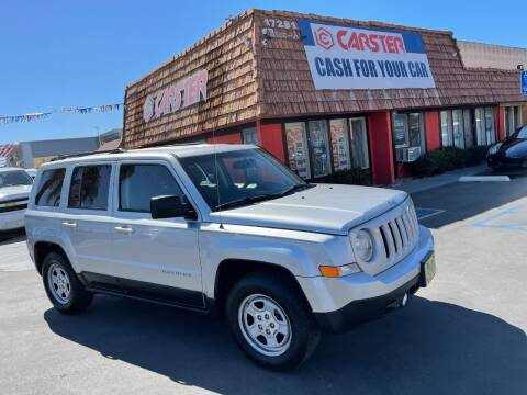 2011 Jeep Patriot for sale at CARSTER in Huntington Beach CA
