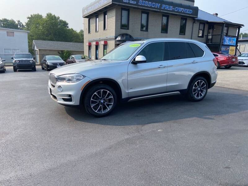 2018 BMW X5 for sale at Sisson Pre-Owned in Uniontown PA
