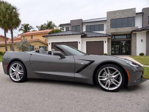 2015 Chevrolet Corvette for sale at Lifetime Automotive Group in Pompano Beach FL