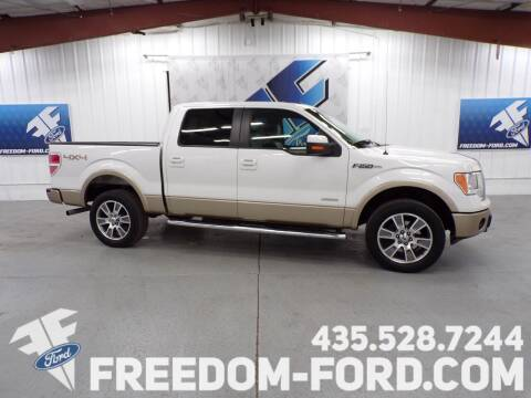 2014 Ford F-150 for sale at Freedom Ford Inc in Gunnison UT