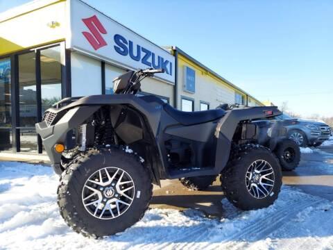 2020 Suzuki KINGQUAD 500AXi POWER STEERING for sale at Suzuki of Tulsa in Tulsa OK