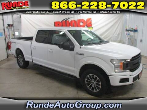 2018 Ford F-150 for sale at Runde Chevrolet in East Dubuque IL