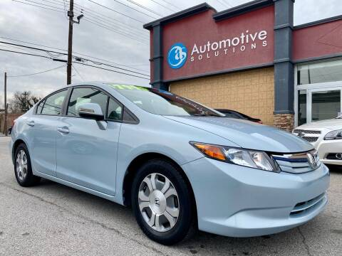 2012 Honda Civic for sale at Automotive Solutions in Louisville KY