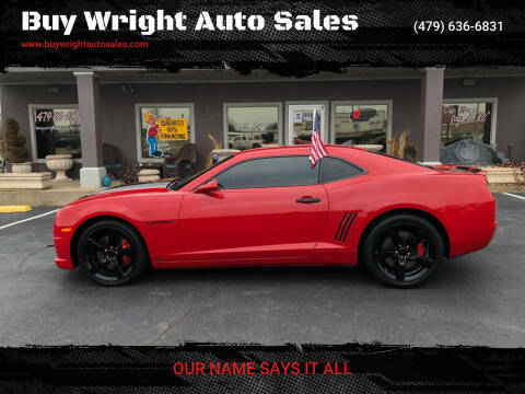 2010 Chevrolet Camaro for sale at Buy Wright Auto Sales in Rogers AR