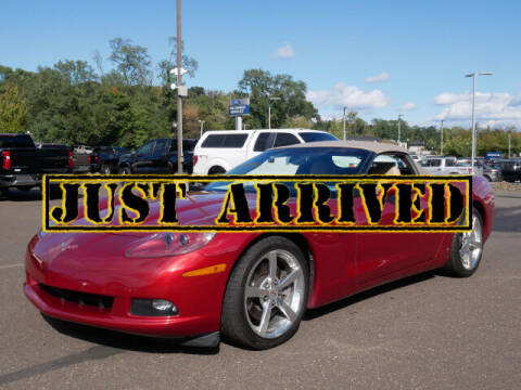 2009 Chevrolet Corvette for sale at BRYNER CHEVROLET in Jenkintown PA