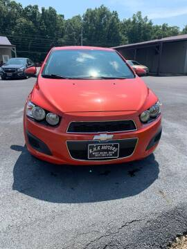2013 Chevrolet Sonic for sale at RHK Motors LLC in West Union OH