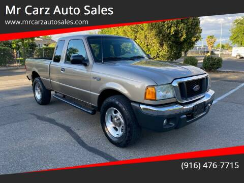 2004 Ford Ranger for sale at Mr Carz Auto Sales in Sacramento CA