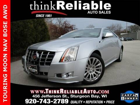 2012 Cadillac CTS for sale at RELIABLE AUTOMOBILE SALES, INC in Sturgeon Bay WI