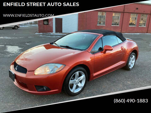 2009 Mitsubishi Eclipse Spyder for sale at ENFIELD STREET AUTO SALES in Enfield CT