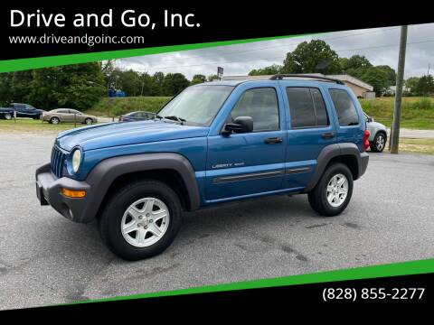 2003 Jeep Liberty for sale at Drive and Go, Inc. in Hickory NC