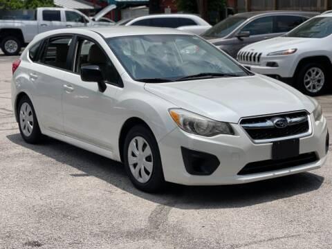 2012 Subaru Impreza for sale at AWESOME CARS LLC in Austin TX