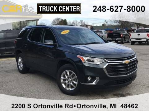 2018 Chevrolet Traverse for sale at Carite Truck Center in Ortonville MI