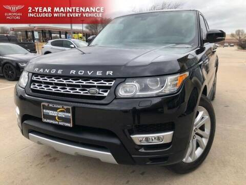 2015 Land Rover Range Rover Sport for sale at European Motors Inc in Plano TX