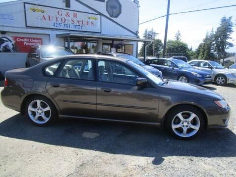 2008 Subaru Legacy for sale at G&R Auto Sales in Lynnwood WA