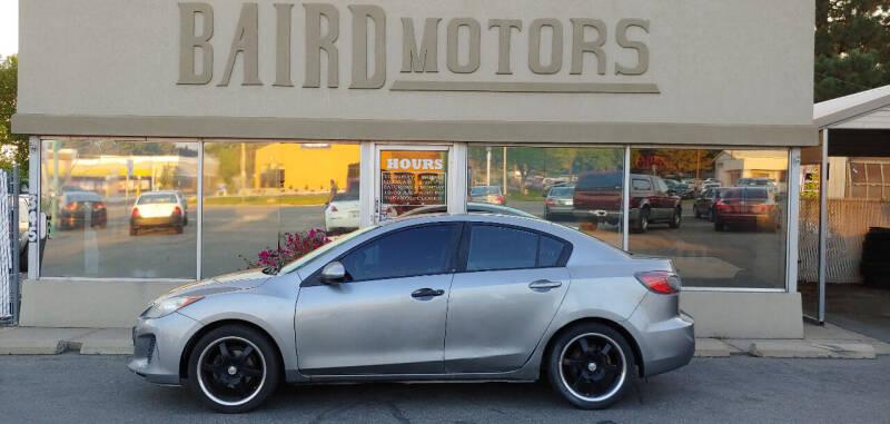 2012 Mazda MAZDA3 for sale at BAIRD MOTORS in Clearfield UT