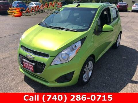 2015 Chevrolet Spark for sale at Carmans Used Cars & Trucks in Jackson OH