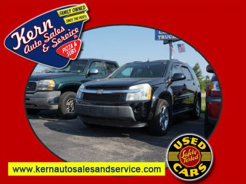 2006 Chevrolet Equinox for sale at Kern Auto Sales & Service LLC in Chelsea MI