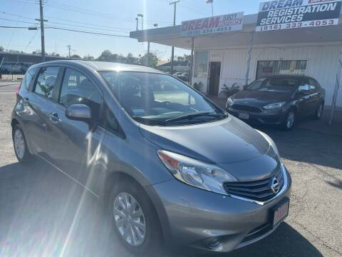 2014 Nissan Versa Note for sale at Dream Motors in Sacramento CA