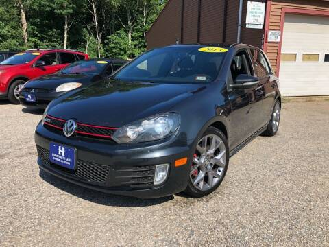 2013 Volkswagen GTI for sale at Hornes Auto Sales LLC in Epping NH