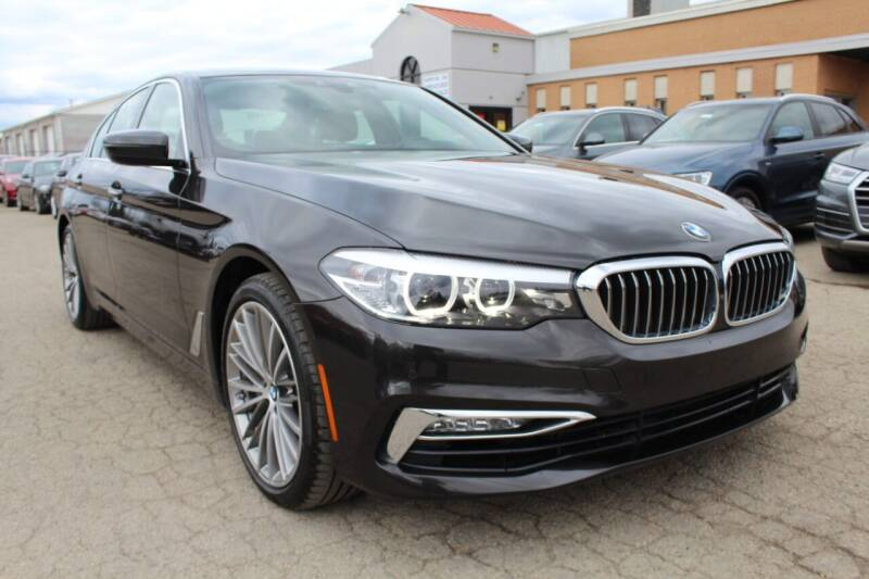 2017 BMW 5 Series for sale at SHAFER AUTO GROUP in Columbus OH