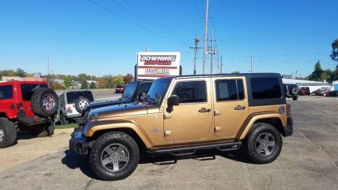 2015 Jeep Wrangler Unlimited for sale at Downing Auto Sales in Des Moines IA