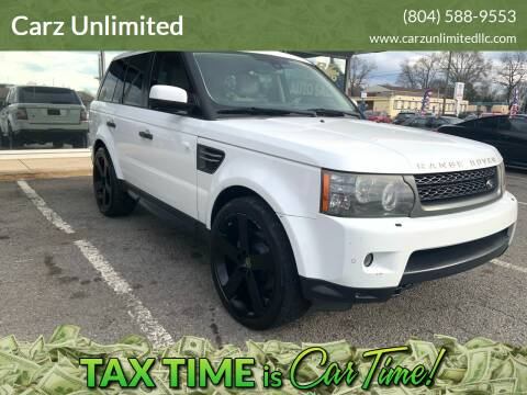 2011 Land Rover Range Rover Sport for sale at Carz Unlimited in Richmond VA