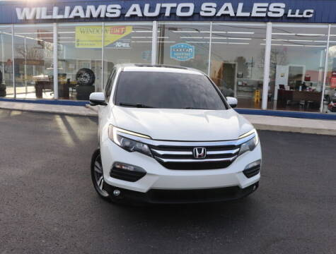 2016 Honda Pilot for sale at Williams Auto Sales, LLC in Cookeville TN