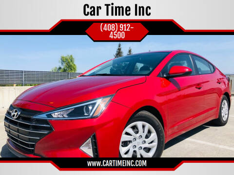 2019 Hyundai Elantra for sale at Car Time Inc in San Jose CA