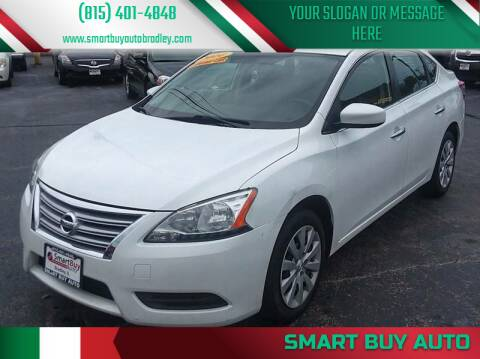 2014 Nissan Sentra for sale at Smart Buy Auto in Bradley IL
