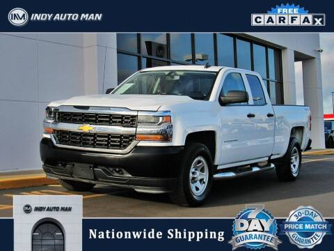 2017 Chevrolet Silverado 1500 for sale at INDY AUTO MAN in Indianapolis IN