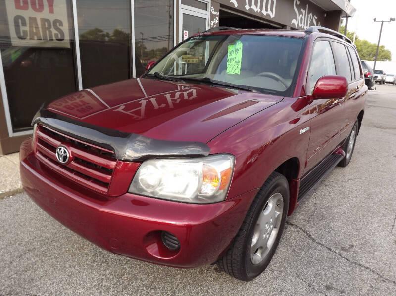 2004 Toyota Highlander for sale at Arko Auto Sales in Eastlake OH