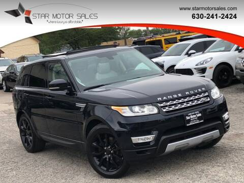 2015 Land Rover Range Rover Sport for sale at Star Motor Sales in Downers Grove IL