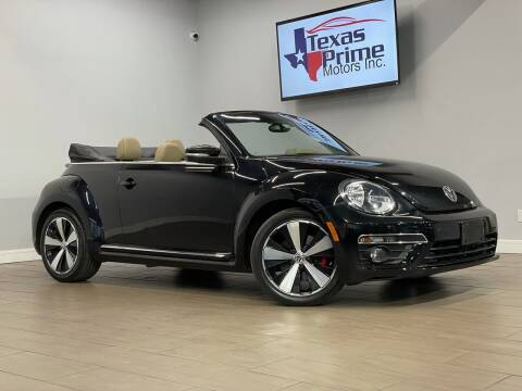 2013 Volkswagen Beetle Convertible for sale at Texas Prime Motors in Houston TX