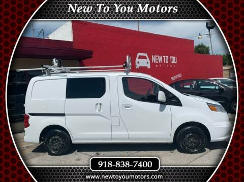 2015 Chevrolet City Express Cargo for sale at New To You Motors in Tulsa OK
