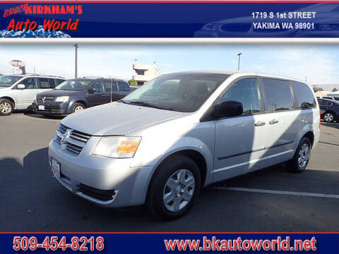 2008 Dodge Grand Caravan for sale at Bruce Kirkham Auto World in Yakima WA