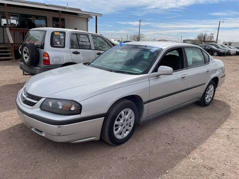 2004 Chevrolet Impala for sale at PYRAMID MOTORS - Fountain Lot in Fountain CO