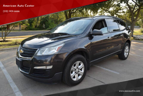 2014 Chevrolet Traverse for sale at American Auto Center in Austin TX