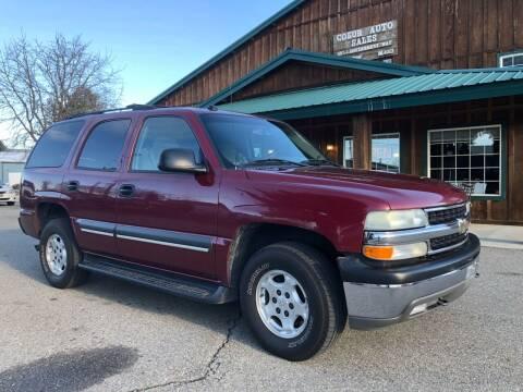 2004 Chevrolet Tahoe for sale at Coeur Auto Sales in Hayden ID