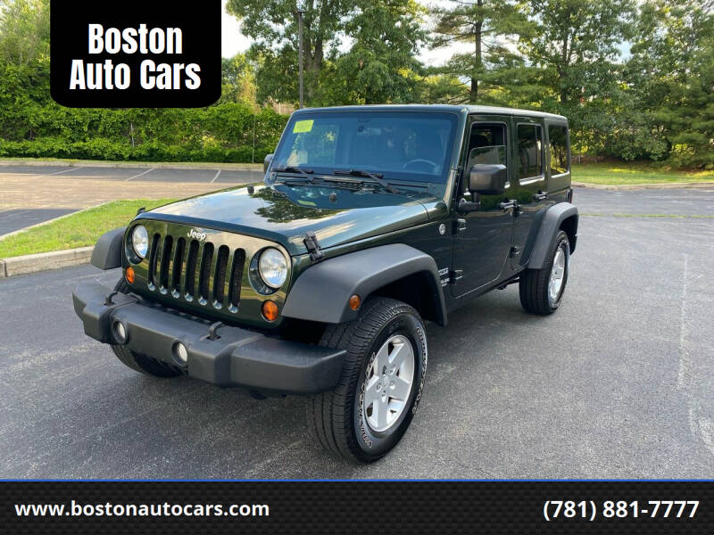 2011 Jeep Wrangler Unlimited for sale at Boston Auto Cars in Dedham MA