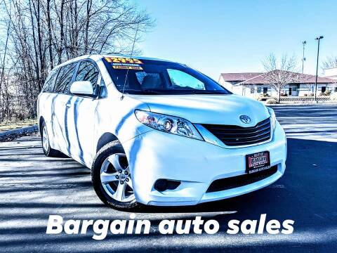 2011 Toyota Sienna for sale at Bargain Auto Sales in Garden City ID