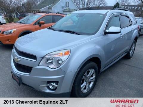 2013 Chevrolet Equinox for sale at Warren Auto Sales in Oxford NY